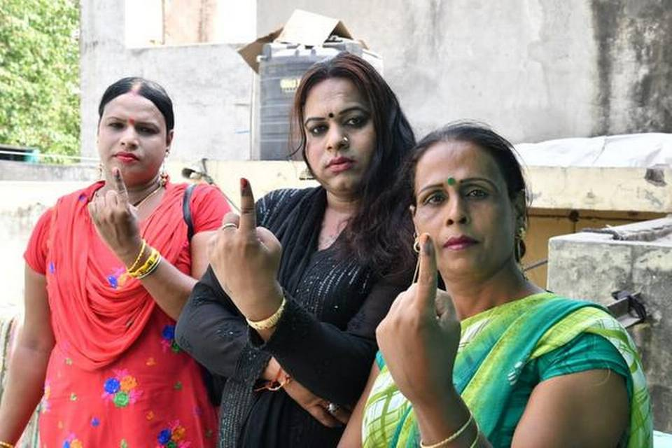Delhi's transgender voters excited at voting for the first time under gender identity of their choice