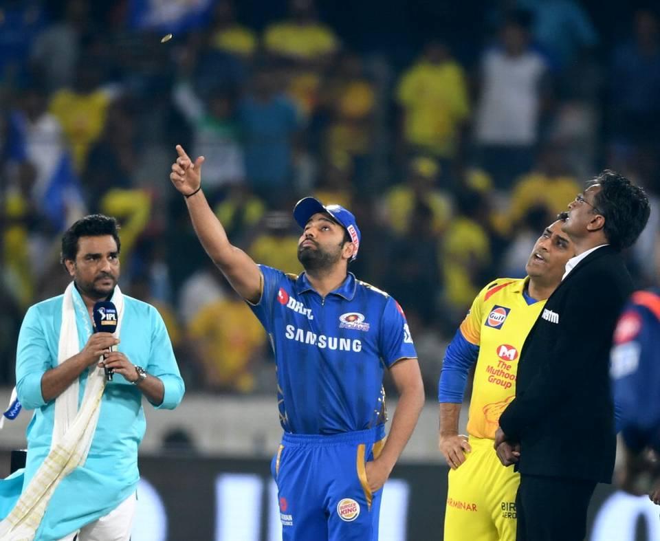 Mumbai Indians win toss, elect to bat against Chennai Super Kings