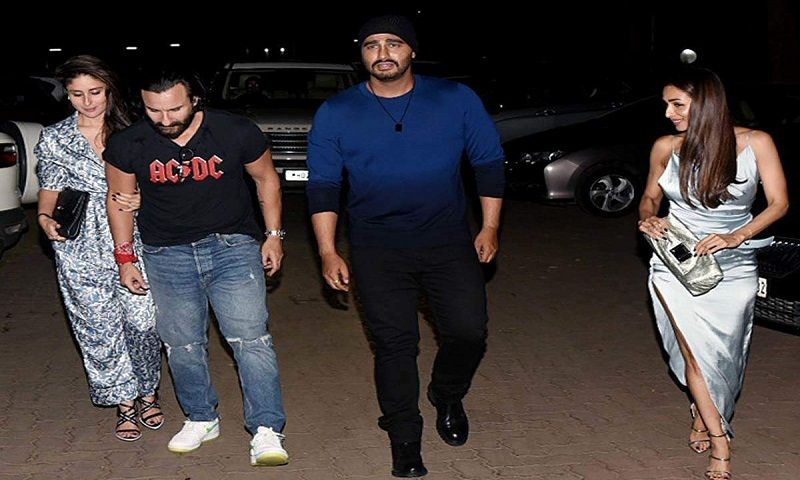 Arjun Kapoor, Malaika Arora step out to party with Kareena Kapoor, Saif Ali Khan