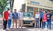RUET scientists invent country's 1st hybrid car