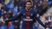 Neymar scores on final game before ban, Monaco in trouble