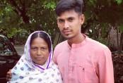 Mustafiz shares Mother's Day twit