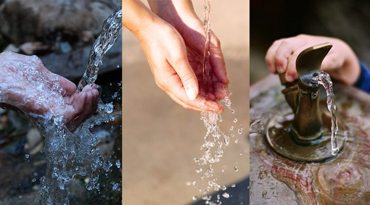Water flows abundantly, but not a drop to drink