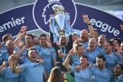 Man City batter Brighton to retain Premier League title