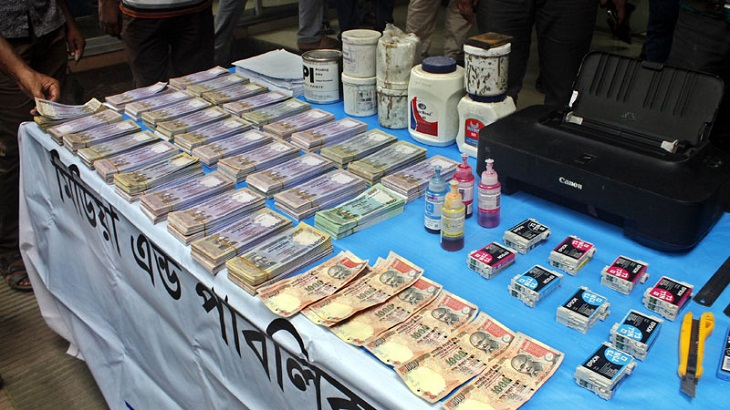 4 held with fake notes worth Tk 2 lakh in Dhaka