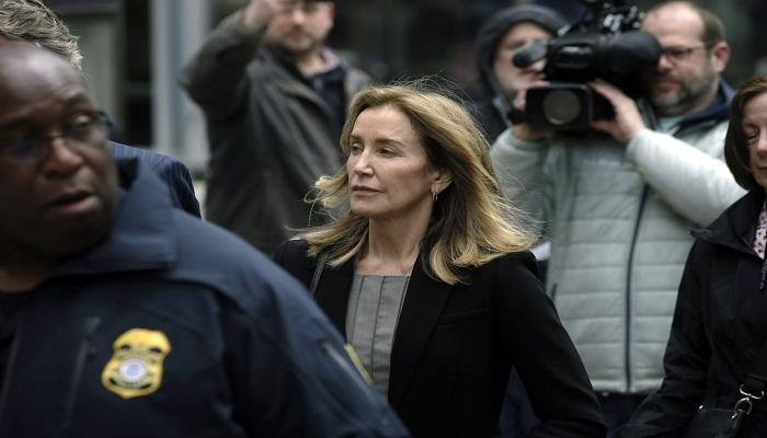 Felicity Huffman pleads guilty in college scheme