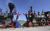 Utah event celebrates Transcontinental Railroad anniversary