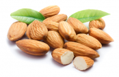 Almonds preferred snack for workout