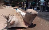 Balloon gas cylinder blasts in Motijheel
