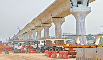 Metro rail progressing fast
