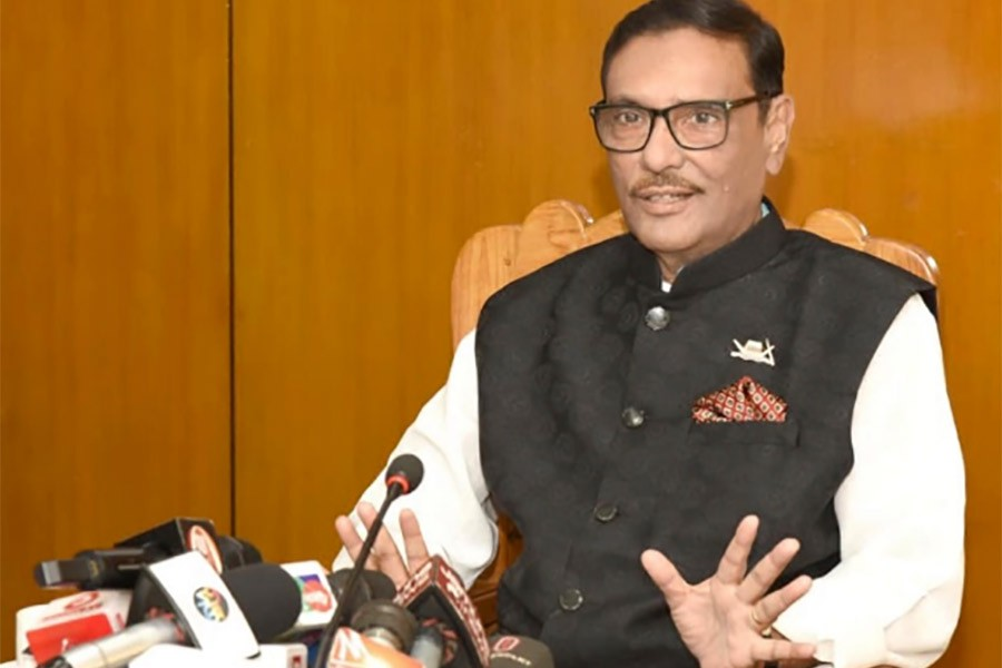 Obaidul Quader returns home this evening
