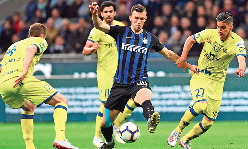 Inter Milan on brink of Champions League