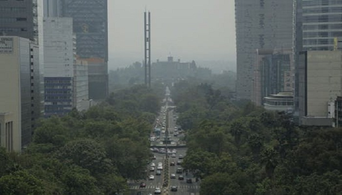 Mexico City declares pollution alert over smoke from fires