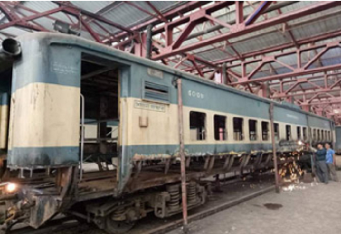 40 additional rail coaches being repaired for eid journey