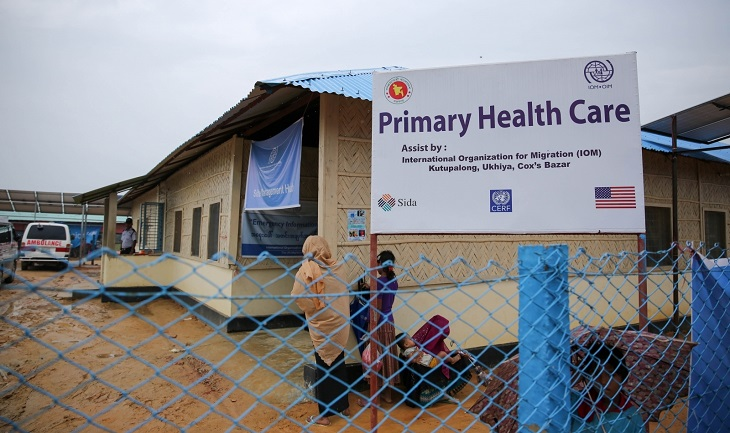 Health services expand in Rohingya camps: IOM