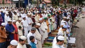 Main Eid jamaat at Nat'l Eidgah at 8:30am