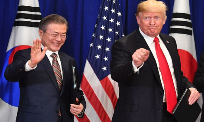 Trump to visit S Korea for talks on North's nukes: White House