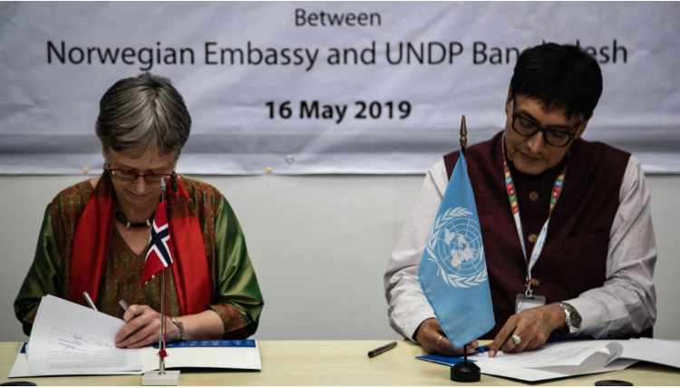 UNDP, Norway seal deal to promote peace, harmony in Cox's Bazar