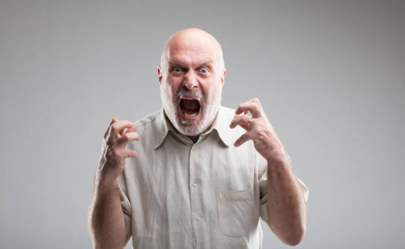 Anger can be damaging to health in old age