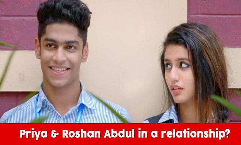 Priya Prakash Varrier on rumours of dating co-star Roshan Abdul Rahoof: I would let the rumours be