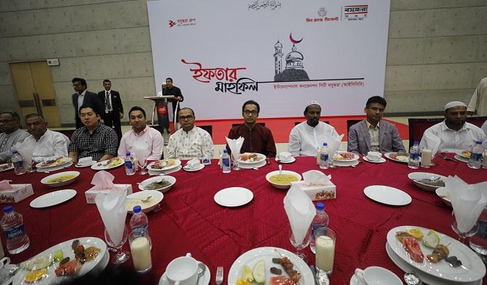 Bashundhara Cement hosts iftar mahfil