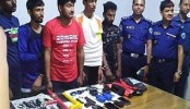 Four Indian nationals held in Brahmanbaria over IS link