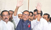 Obaidul Quader expresses his gratitude to Awami League President for her all-out support