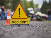 Road crash kills three including two siblings in Bogura