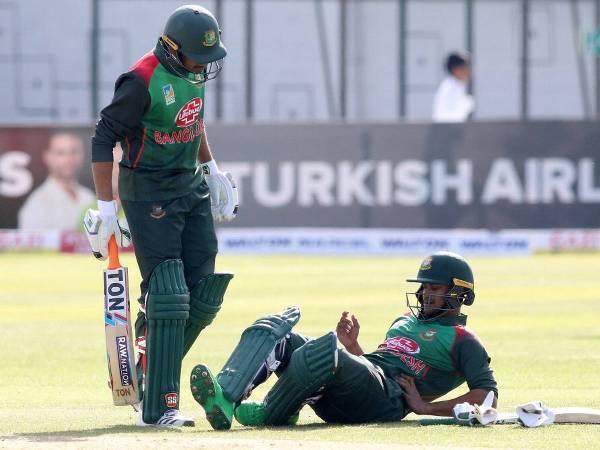 Bangladesh sweat over Shakib Al Hasan's fitness before tri-series final