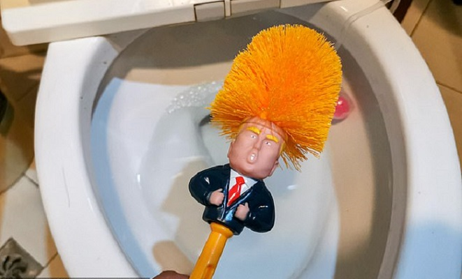'Trump toilet brushes' attract customers in China market