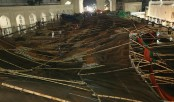 One killed, dozens injured in national mosque pandal collapse during nor'wester