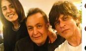 Shah Rukh Khan meets Rishi Kapoor in New York