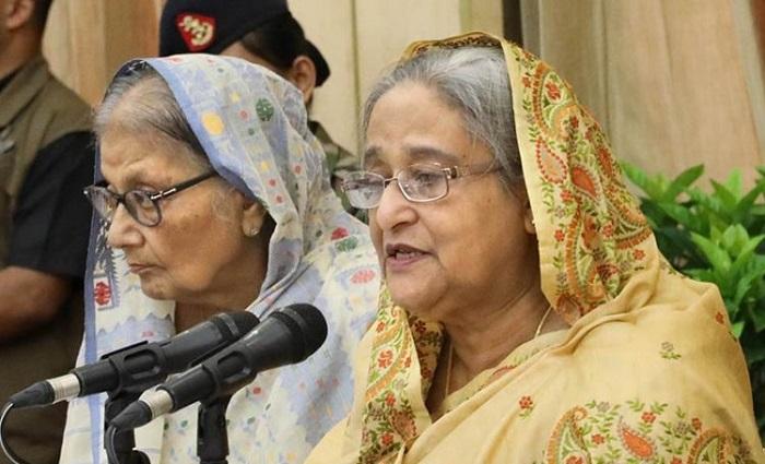 I didn't seek post in student politics: Sheikh Hasina