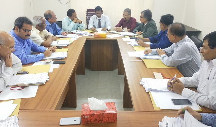 First syndicate meeting of BSFMSTU held