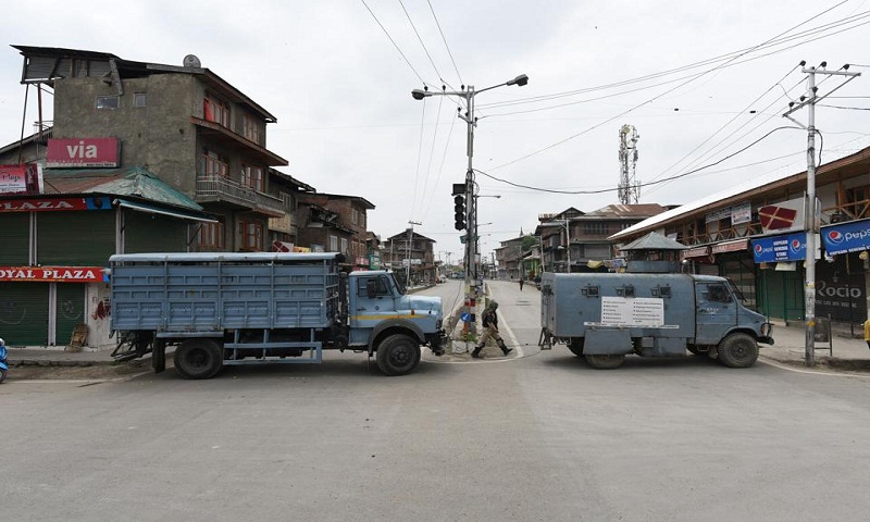 Curfew continues in violence-hit Jammu town for second day