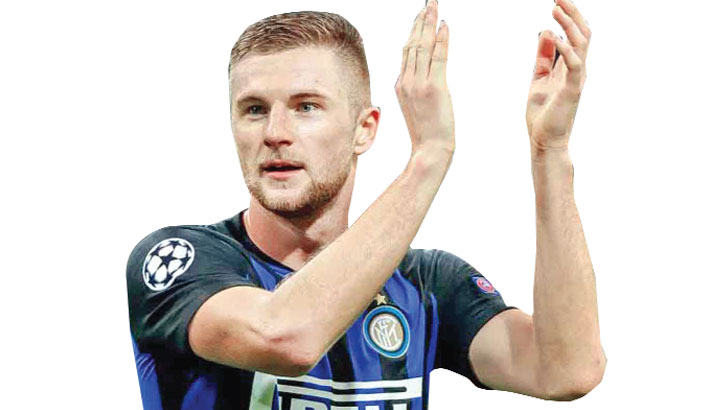 Defender Skriniar commits to Inter