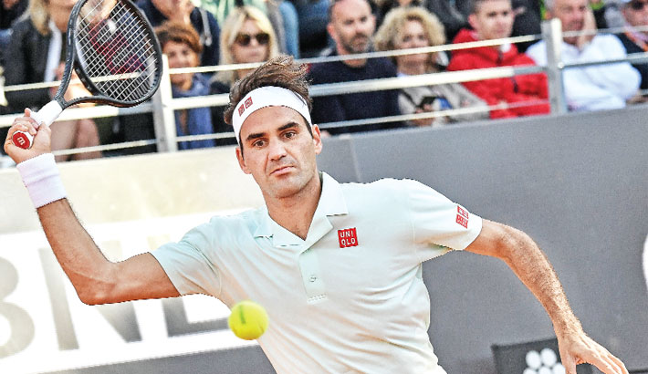 Federer survives match points, Nadal, Djokovic cruise