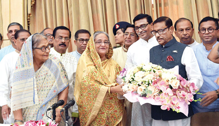 'Sheikh Hasina rescued AL from deep crisis'