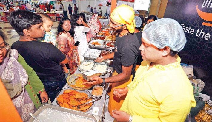 Old Dhaka's iftar delicacies woo food lovers at ICCB