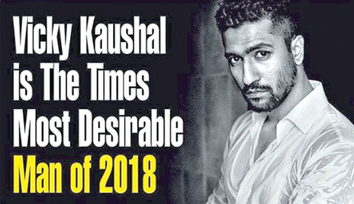Vicky Kaushal is India's most  desirable man of 2018