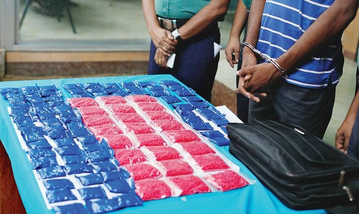 Drug smuggling goes on despite drive