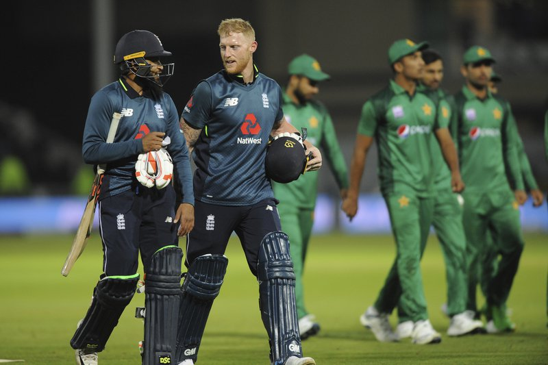 Stokes sees stuttering England to Pakistan series win
