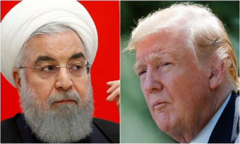 President Donald Trump 'does not want war with Iran'