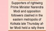 Fresh election clashes hit Kolkata