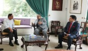 Expatriates' Welfare minister Imran Ahmed pays courtesy visit to Anwar Ibrahim