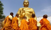 Buddha Purnima being celebrated