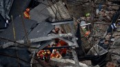 Ten dead as factory wall collapses in Shanghai