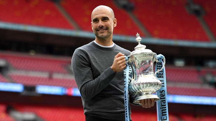 Domestic treble 'better than Champions League' for Guardiola