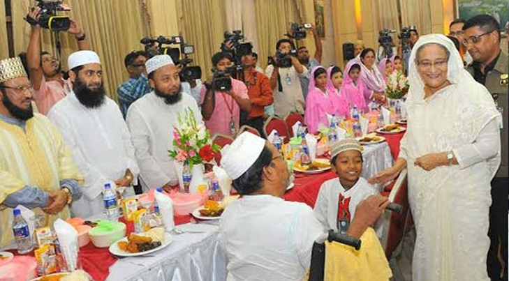 Prime Minister Sheikh Hasina to host iftar for freedom fighters, orphans and ulemas