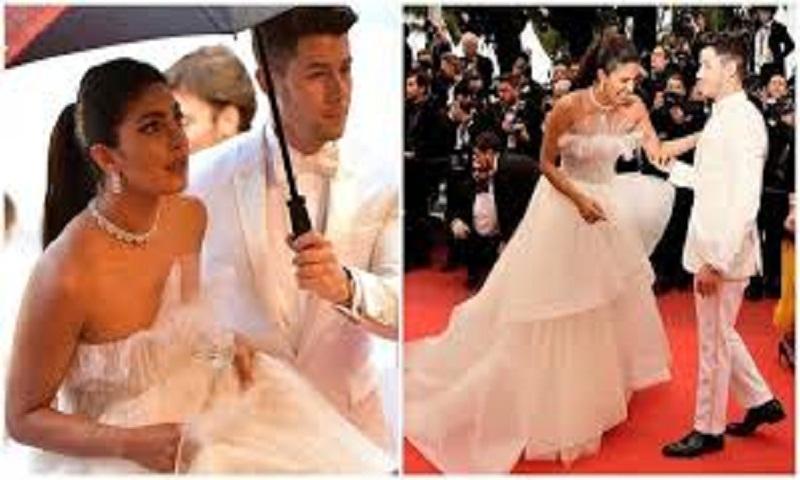 Priyanka Chopra is a vision in white at Cannes